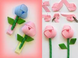 ribbon hair clip diy rosebud ribbon hairclip fabdiy
