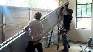 How To Install An Overhead Door How To Install Overhead Doors In A Garage House Design