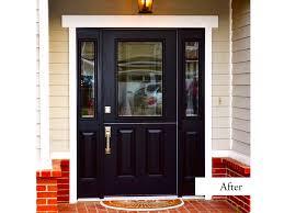 front doors with side lights black dutch door with side lights smooth fiberglass model