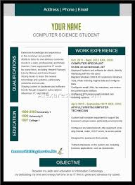 Best Resume For Computer Science Student free resume templates good layouts examples of resumes in best
