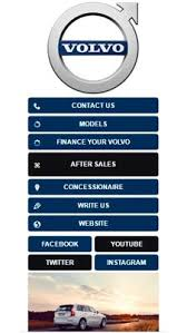 volvo official website visual ivr mobile application star phone official website