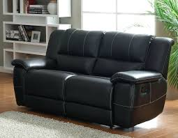 Black Leather Recliner Black Leather Loveseat Recliner Sofa And For Sale Rocker