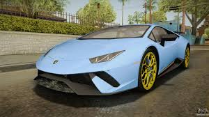 lamborghini custom paint job lamborghini huracan for gta san andreas