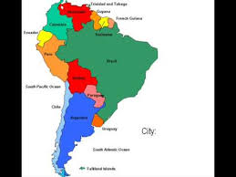map of south america in south america map