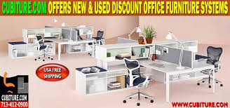 Discount Office Desks Used Cubicles For Sale Designed Installed Houston Tx