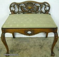 vanities antique french vanity bench vintage vanity chair wood