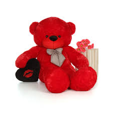 big valentines day teddy bears 6 foot size s day teddy bitsy cuddles