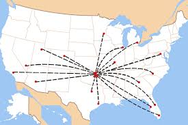 Tulsa Map Here U0027s Where You Can Fly Non Stop From Tulsa International Airport