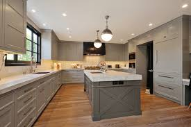Gray Kitchen Ideas Artistic Designs For Living Kitchens U Shaped Kitchen