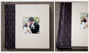 Leather Picture Album A Finao Album With A Datebook Spine And Opaline White Leather