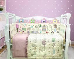 Cheetah Print Crib Bedding Baby Crib Bedding Set Princess Bedding Pink Nursery