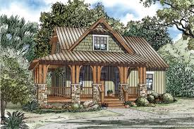 square house plans with wrap around porch house plan 82267 at familyhomeplans com