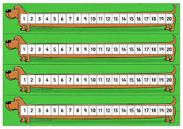 printable numbers lines printable number line for classroom wall