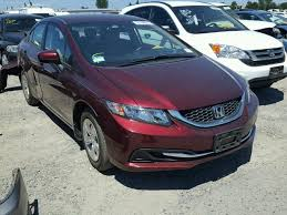 auto auction ended on vin 19xfb2f52ee235937 2014 honda civic lx