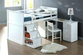 bureau surélevé bureau avec rangement au dessus lit mezzanine enfant avec bureau