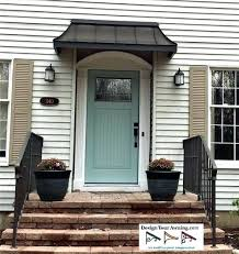Front Door Awnings Wood Entry Door Awnings Metal Exterior Door Awnings Entry Door Wood