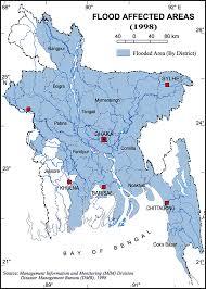 Map Of Bangladesh Historical Flood Maps Of Bangladesh