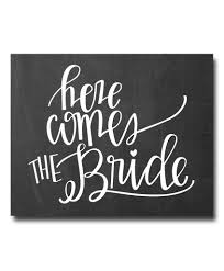 Hypolita Love Anchors The Soul - here comes the bride print a lovely addition to your wedding