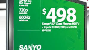 50 inch tv walmart black friday walmart black friday online sale offers 498 50 inch sanyo plasma