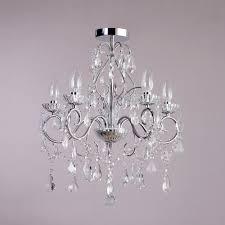 vara 5 light bathroom chandelier chrome