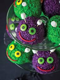 halloween recipe furry snowball monsters hgtv