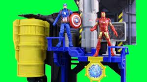 iron man mark 43 visits captain america civil war bunker and