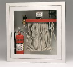 surface mount fire extinguisher cabinets larsen s surface mounted fire hose cabinets