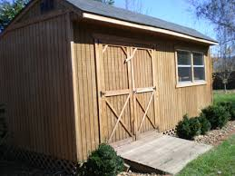How To Build A Cheap Shed Plans by 10x20 Saltbox Wood Storage Garden Shed Plans 26 Styles Gable