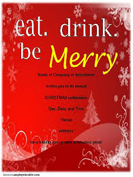 office christmas party invitation templates free orax info
