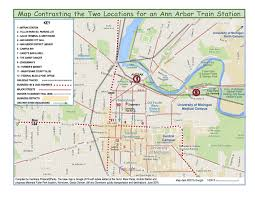 Map Of Ann Arbor Michigan by What U0027s Next For Ann Arbor Train Station Project City Hopes To
