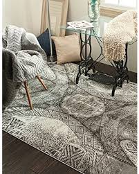 Area Rugs 8 X 10 Deals On Unique Loom Sofia Collection Gray