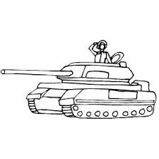 army soldier coloring pages soldier in tank saluting coloring page