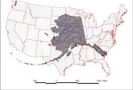 us map of alaska alaska lower 48 map nrcs alaska