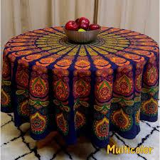handmade sanganer peacock mandala 72