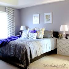 excellent blue and grey bedroom picture concept stylish living