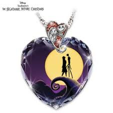 purple necklace pendant images Tim burtons the nightmare before christmas pendant necklace