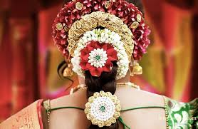 flower decoration for hair bridal flowers coimbatore south indian bridal hair decoration