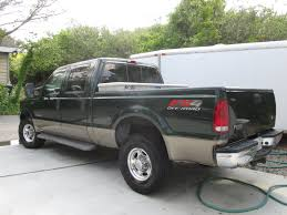 Ford Diesel Truck 2016 - 2003 ford f250 green 4 x 4 turbo diesel for sale