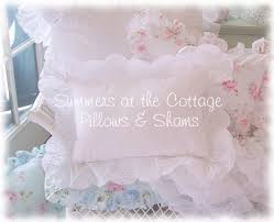shabby chic bedding cottage pillows u0026 shams