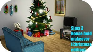 sims 3 base game christmas decorating youtube