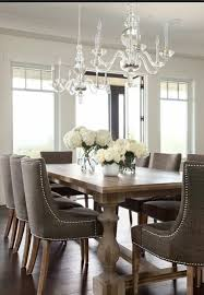 Upholstered Chairs Dining Room Impressive Dining Table And Fabric Chairs Wood Dining Table With