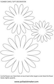 25 flower template ideas paper flowers diy