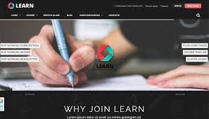 bootstrap sites templates 20 best education website html templates templatemag