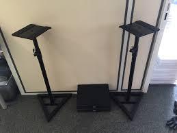 quik lok bs300 stand monitor image 1425319 audiofanzine