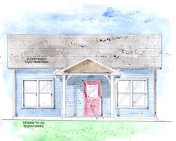 tiny home plan th 101 elev 2 taylor made plans