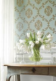 wallpaper in dining room stylish animal print and floral print wallpaper ideas for updating