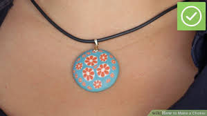 diy pendant choker necklace images 3 ways to make a choker wikihow jpg