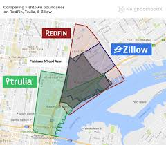 Washington Dc Neighborhood Map by How Real Estate Websites Define Fishtown U0027s Boundaries Curbed Philly
