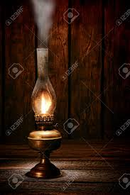 Old Lantern Light Fixtures by Antique Rustic Kerosene Oil Lantern Lamp Burning Light With A
