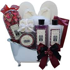 bath gift basket white mulberry bathtub spa bath and gift basket set